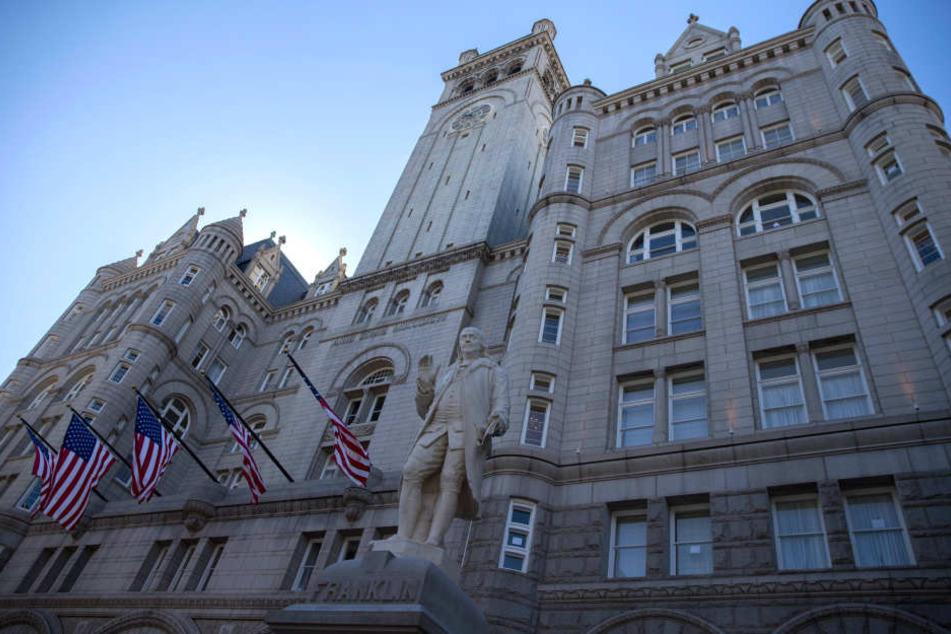 Im Trump-Hotel wurde ein 43-Jähriger festgenommen.
