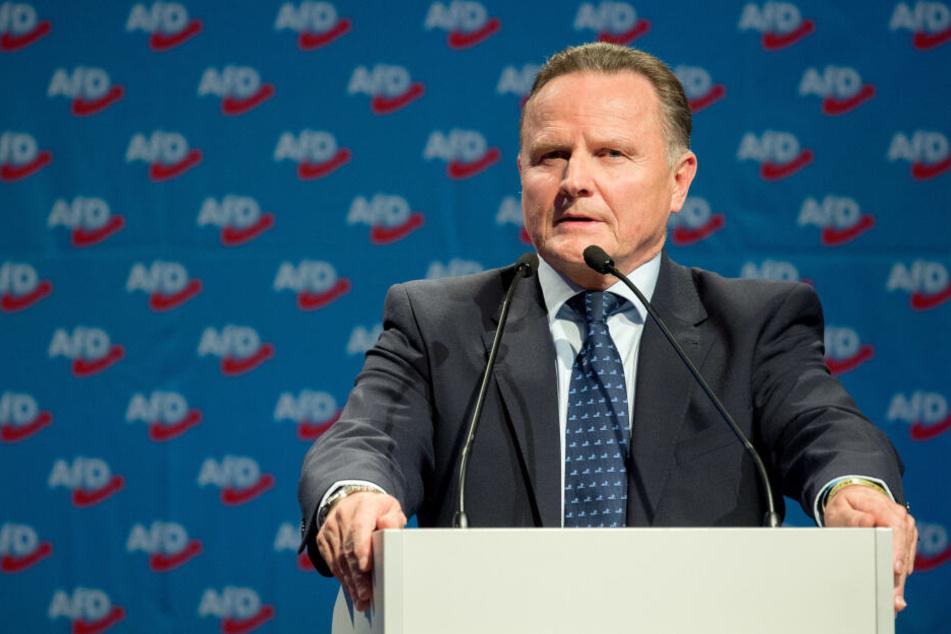 Georg Pazderski, Landesvorsitzender der AfD Berlin, weiß noch nicht, wo der Parteitag stattfinden wird.