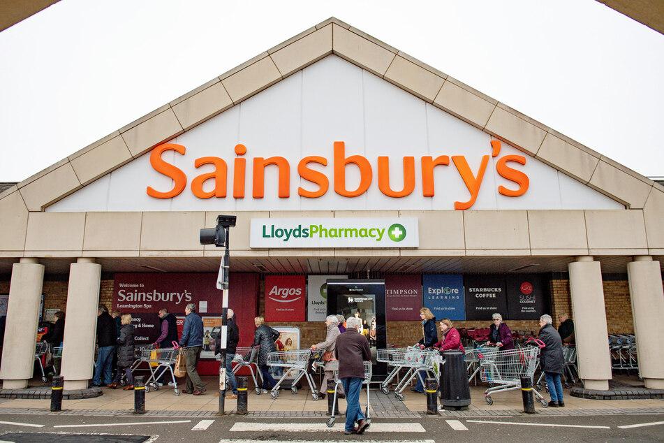 Die Supermarktkette Sainbury's dominiert neben Tesco den Lebensmittelverkauf in Großbritannien.