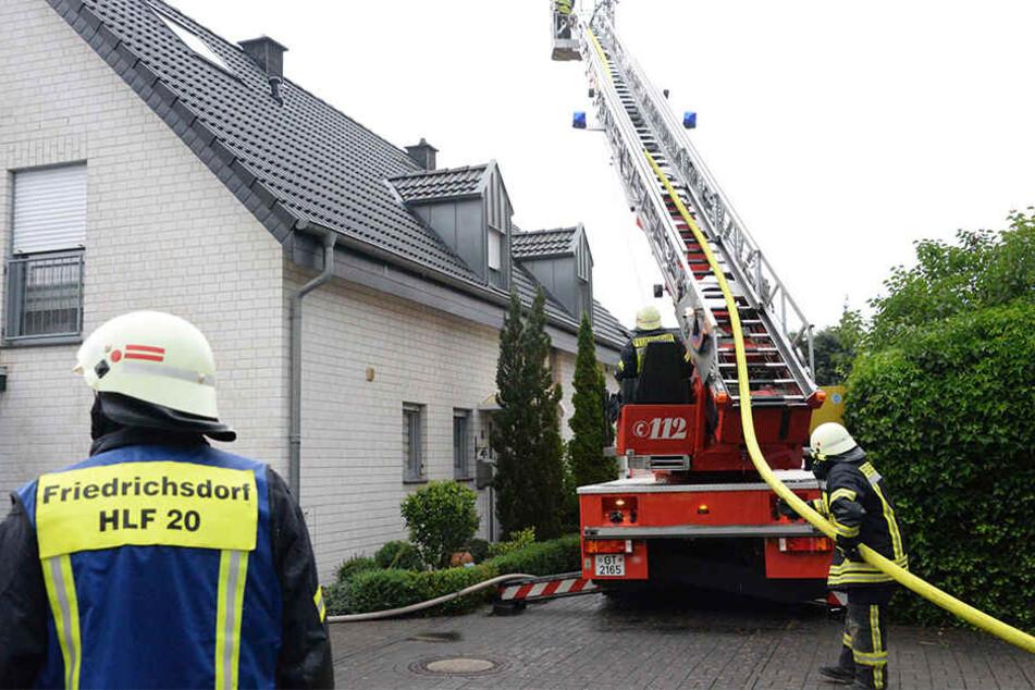 Die Feuerwehr musste zu mehreren Bränden ausrücken.