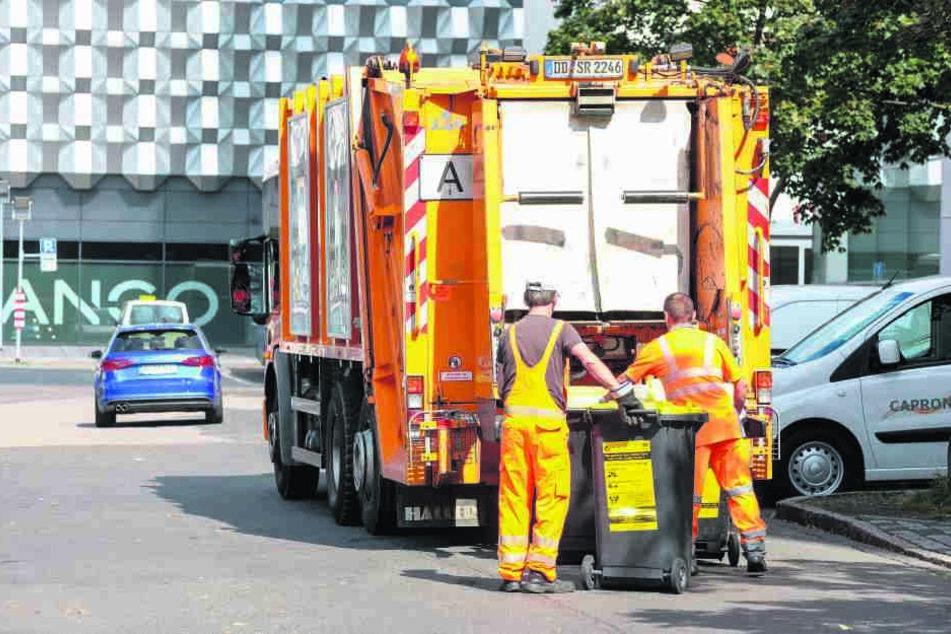 Die Müllgebühren sollen nächstes Jahr um 5,5 Prozent angehoben werden.