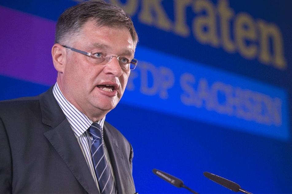 Holger Zastrow (50, FDP) fordert eine Volksabstimmung.