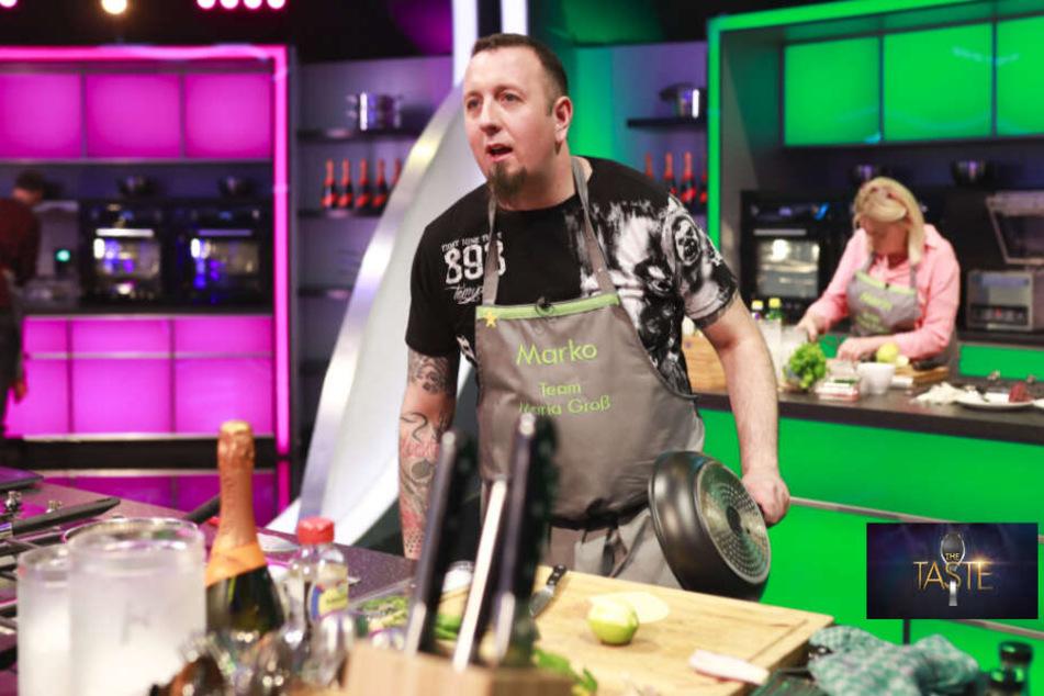 """Sat.1-Show """"The Taste"""": Fast hätte Sachsen-Koch Marko den Löffel abgegeben"""