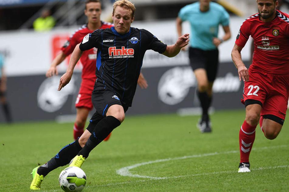 Die Paderborner waren immer einen Schritt schneller, als ihr Gegner.