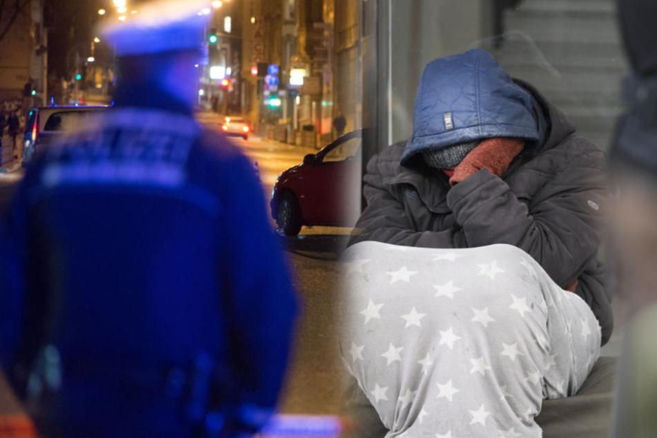 Schon zum zweiten Mal innerhalb kürzester Zeit wurde der Obdachlose auffällig (Symbolbild).
