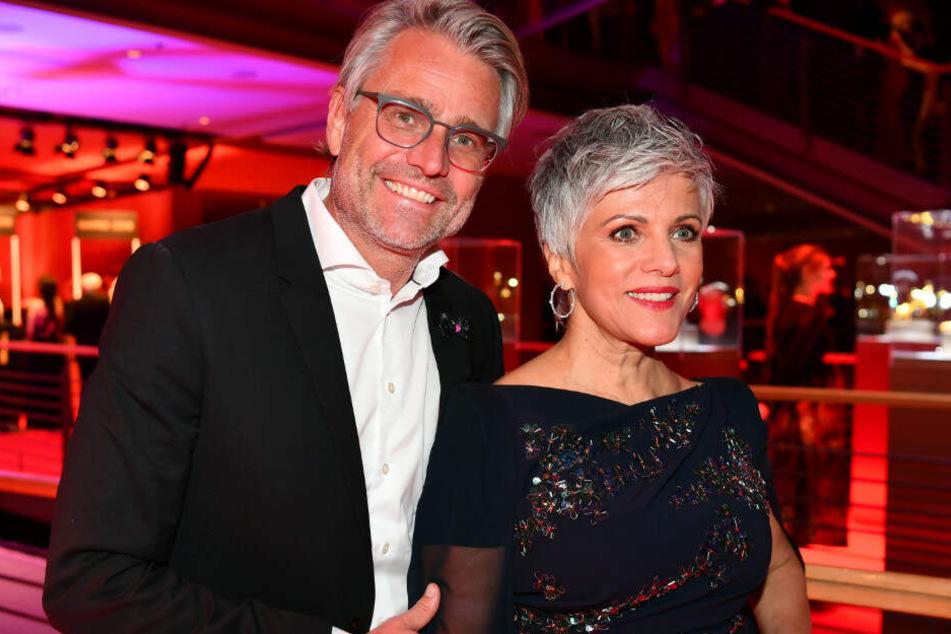Birgit Schrowange mit ihrem Freund Frank Spothelfer.
