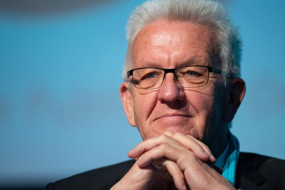 Ohne schwäbischen Dialekt undenkbar: Winfried Kretschmann.