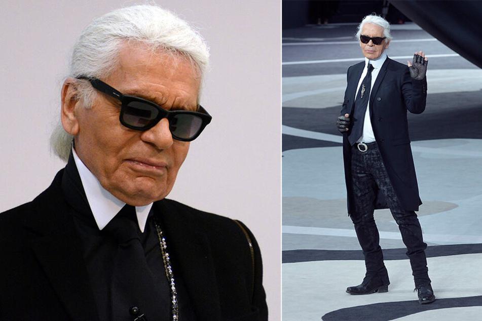 Der deutsche Modedesigner Karl Lagerfeld hatte vor seinem Tod noch eine letzte Chanel-Kollektion entworfen. Sie wurde bei der Paris fashion Week gezeigt.