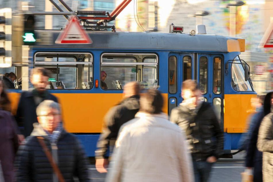 In Zukunft soll die Leipziger Straßenbahn noch schneller unterwegs sein.