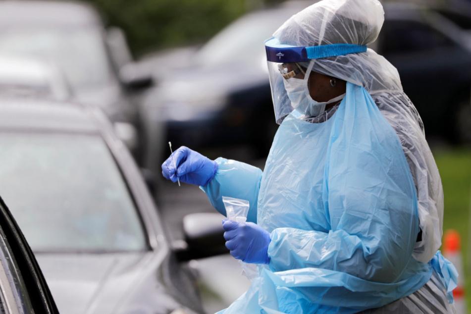 In den USA ist das Ausmaß der Pandemie unklar.