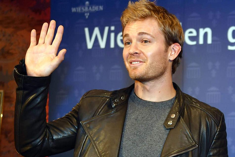 """Rosberg sagt """"Servus""""."""