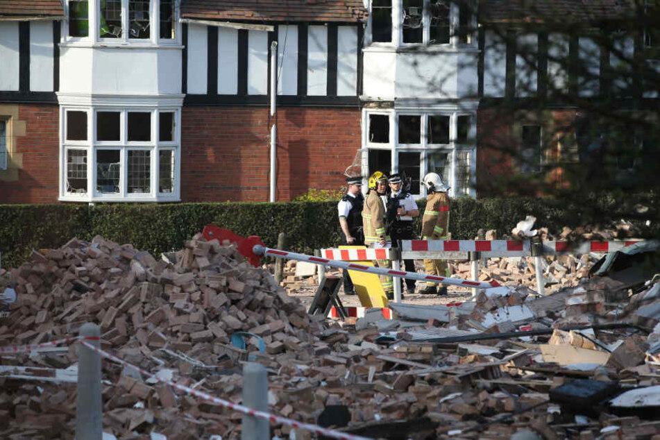 In Großbritannien wurden über 30 Menschen bei einer Gasexplosion verletzt.