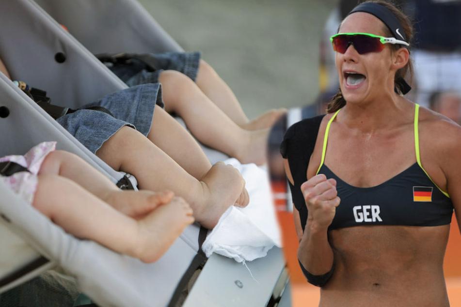 Goldiger Nachwuchs! Drillinge für Beachvolleyball-Olympiasiegerin Walkenhorst