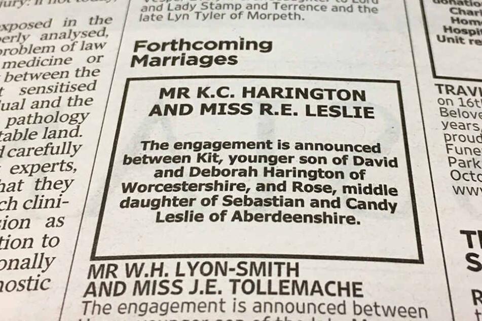 Im echten Leben hat es geklappt: Kit Harington und Rose Leslie sind verlobt.