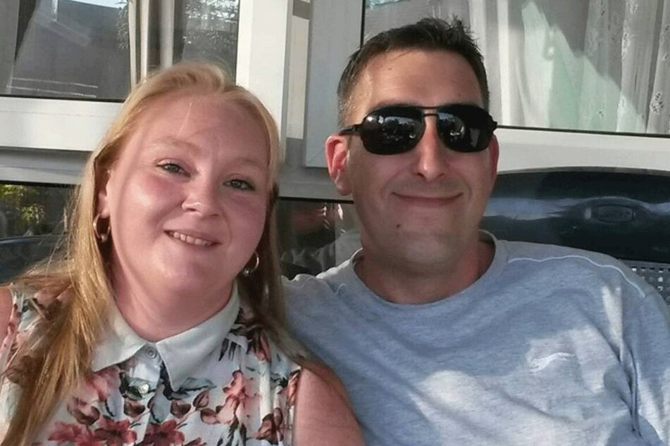 Michelle Plumley (32) und ihr Scott (†41).