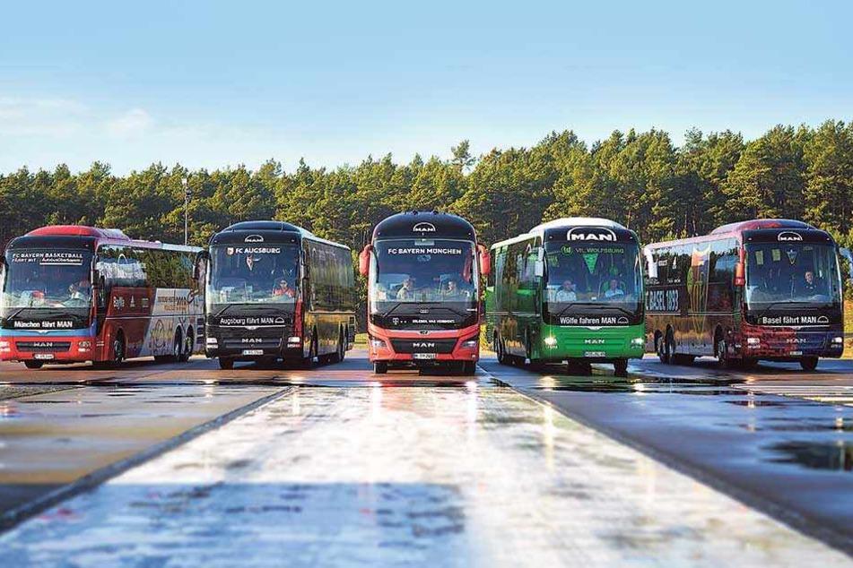 MAN will Mannschaftsbus-Hersteller Nummer Eins in Europa werden – gute Nachrichten für Plauen.
