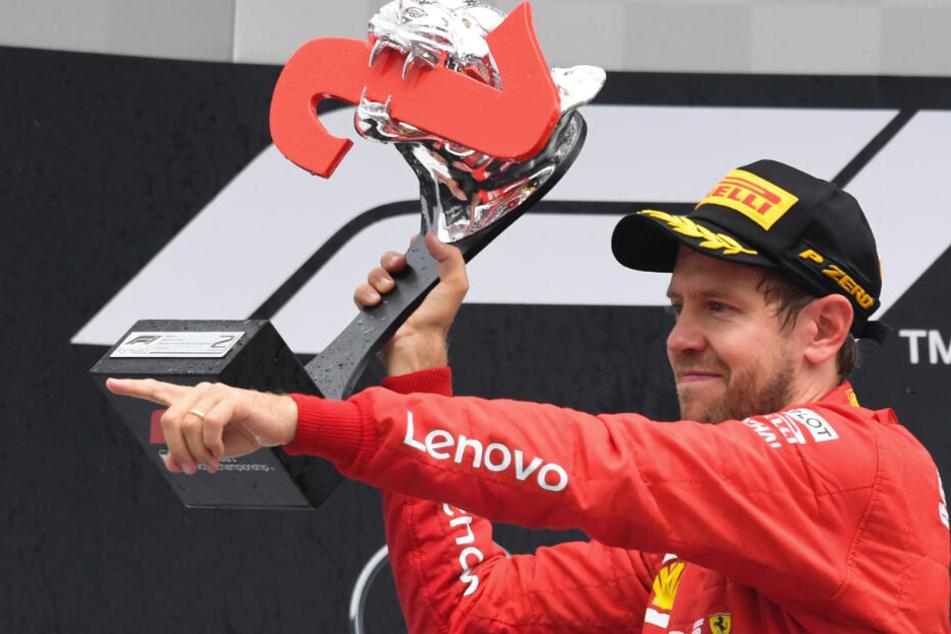 Sebastian Vettel will, dass die Formel 1 in Hockenheim eine Zukunft hat