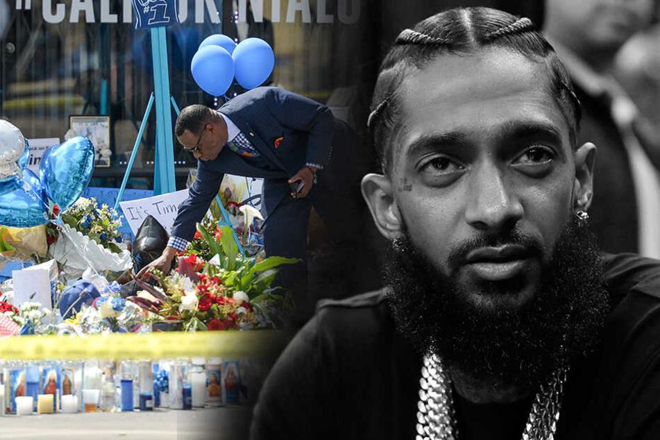 Rapper vor seinem Geschäft erschossen: Polizei nimmt Verdächtigen fest