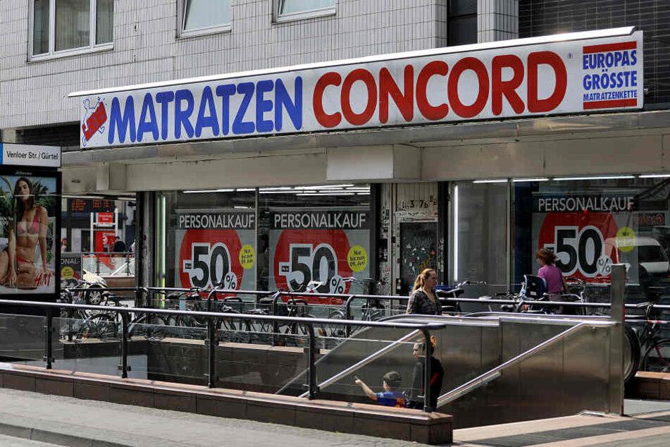 Eine bisherige Filiale von Matratzen Concord in Köln-Ehrenfeld.