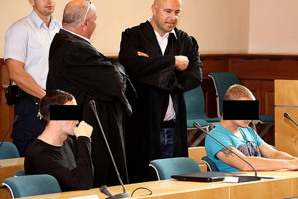 Michael K. (33) und Tino H. (31) wurden zu milden Strafen verurteilt.