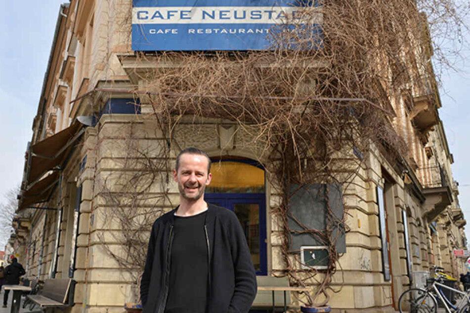Der Café-Neustadt-Chef freut sich auf neue Nachbarn.