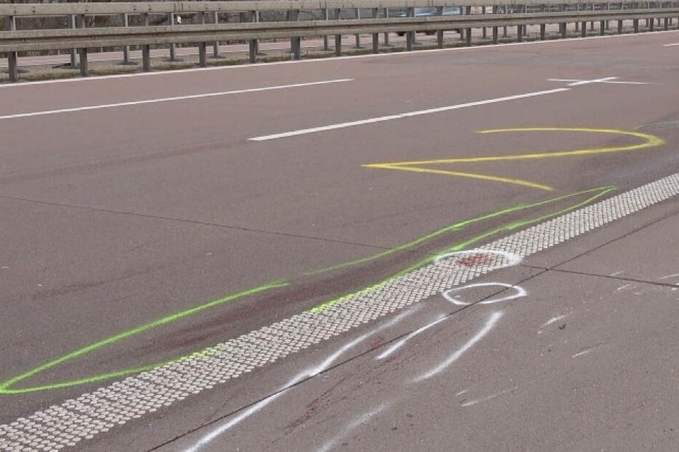 Unfall-Drama auf der A9: Pannenhelfer auf Standstreifen getötet, Fahrer flüchtet