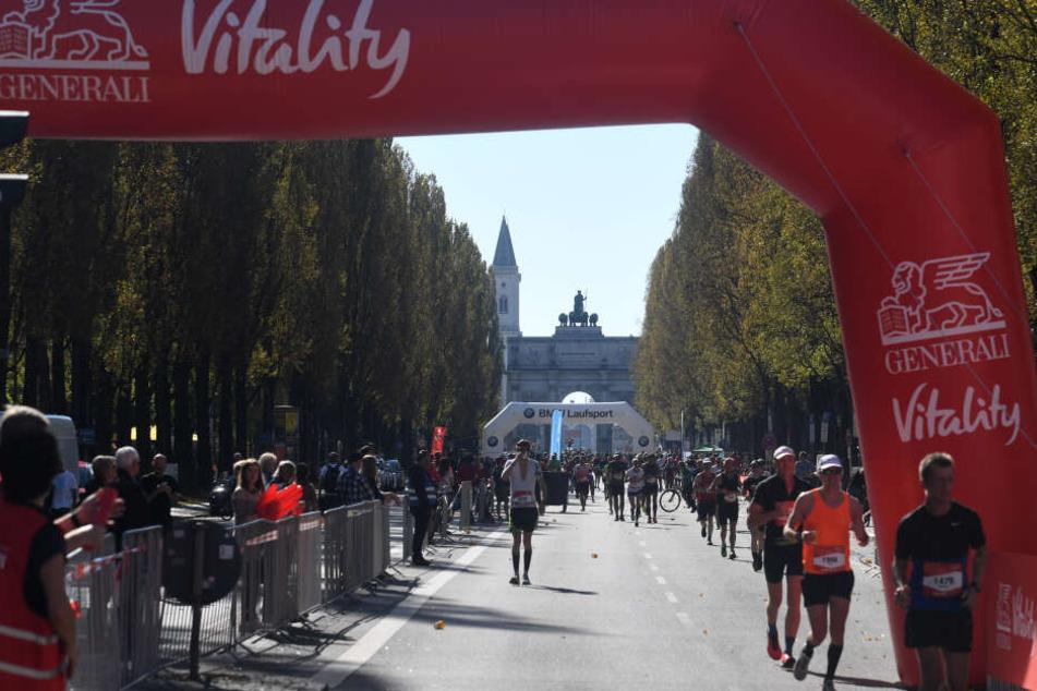 München marathon 2020 strecke