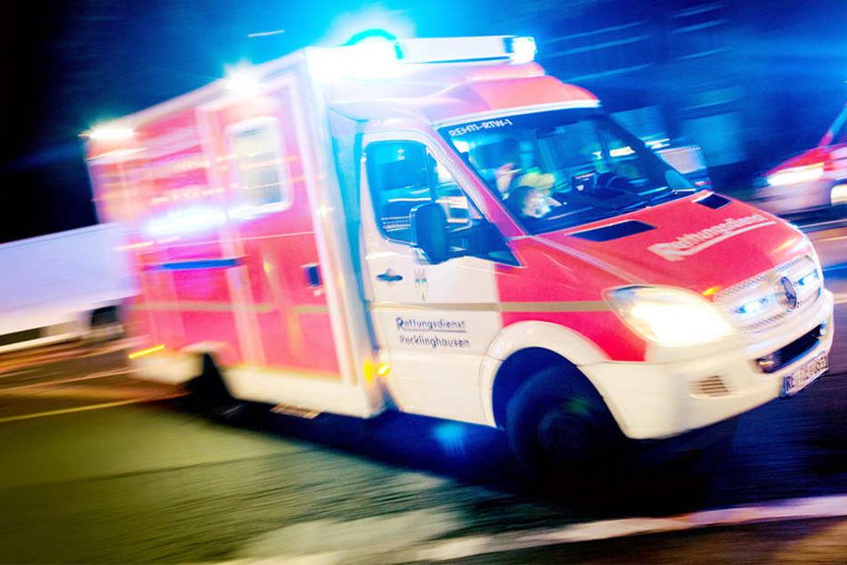 In Waldheim ist ein Säugling bei einem Unfall schwer verletzt worden.