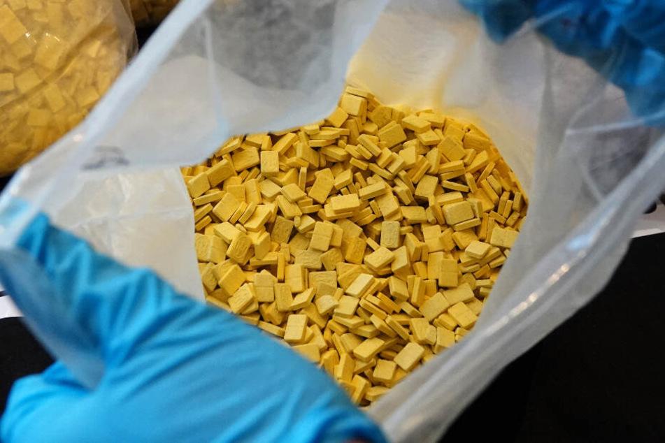 700 Gramm Ecstasy wurden von der Polizei sichergestellt (Symbolbild).
