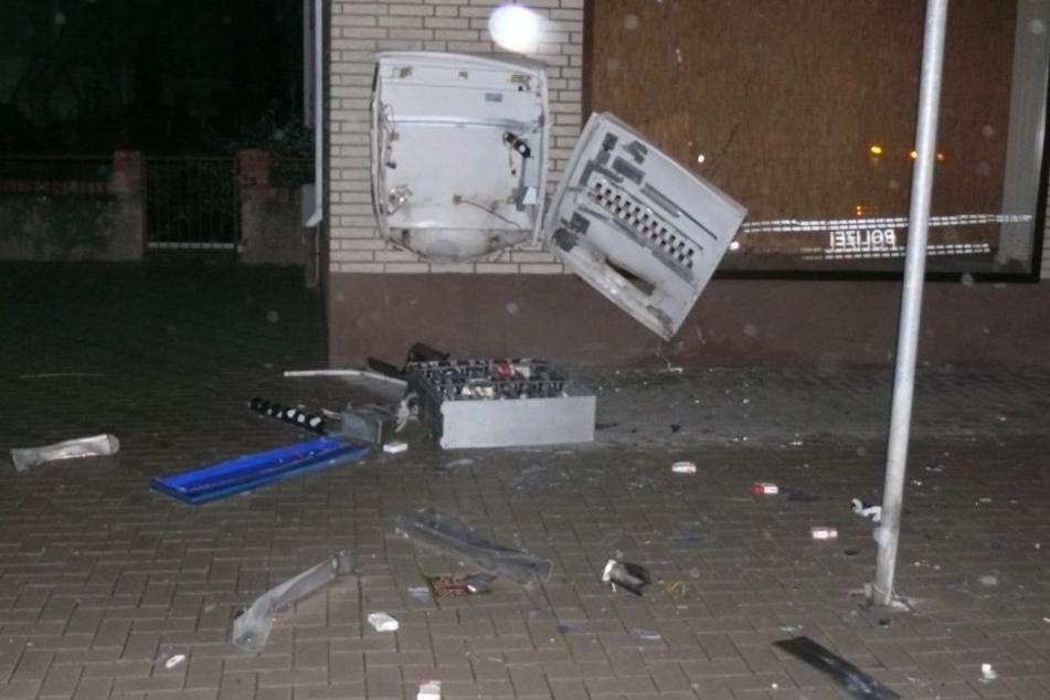 Der Automat wurde bereits im November aufgebrochen.