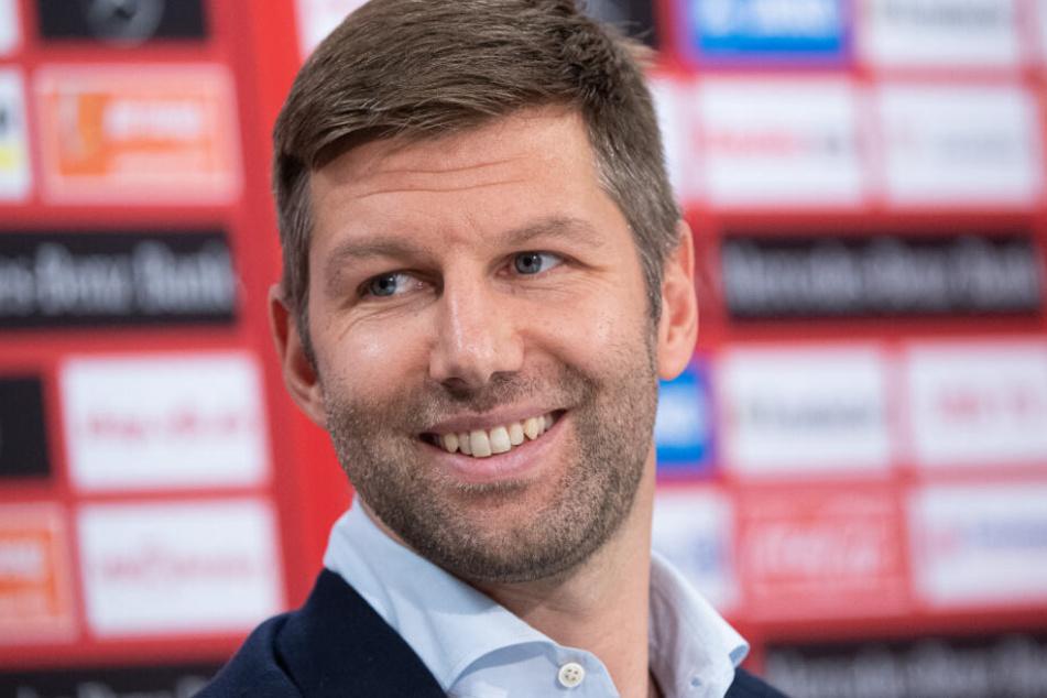 Meist mit einem Grinsen auf den Lippen: VfB-Sportvorstand Thomas Hitzlsperger.