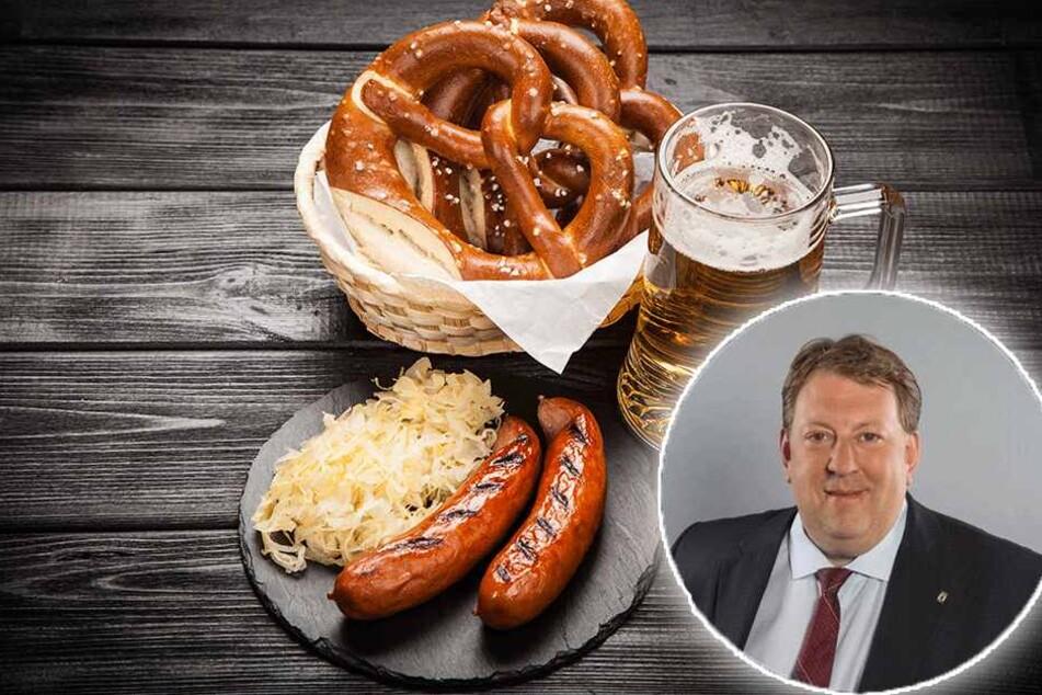 """Laut AfD-Politiker Gunnar Lindemann geht die """"deutsche Kultur den Bach ab""""."""