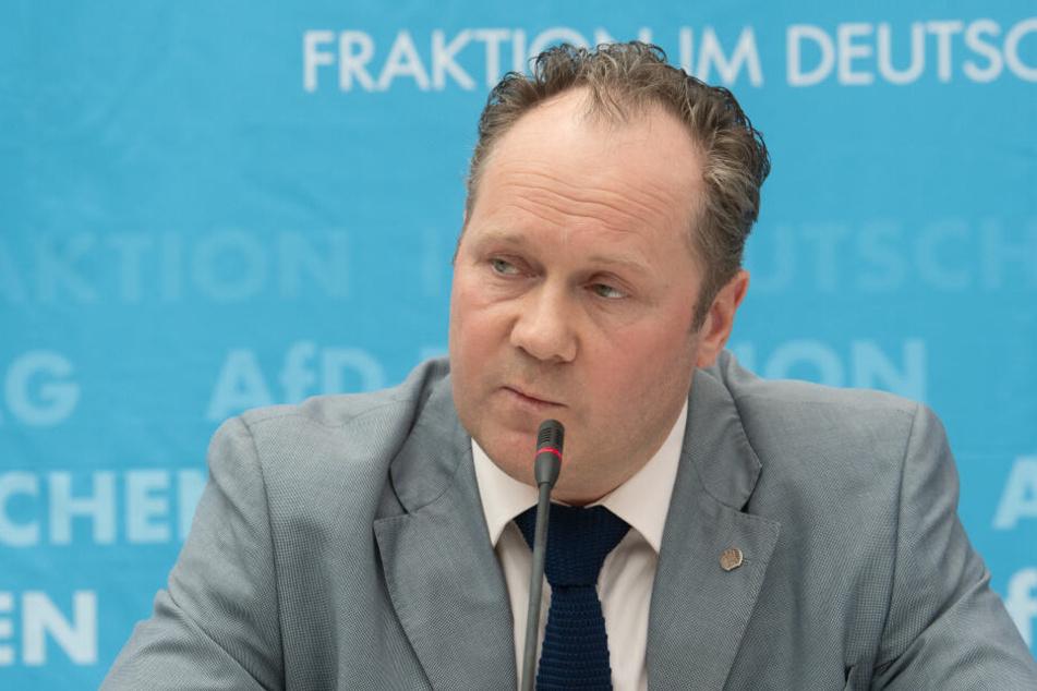 Er betrieb den Rauswurf von Lars Herrmann aus der AfD-Landesgruppe im Bundestag: der Leipziger Bundestagsabgeordnete und Höcke-Spezi Siegbert Droese.
