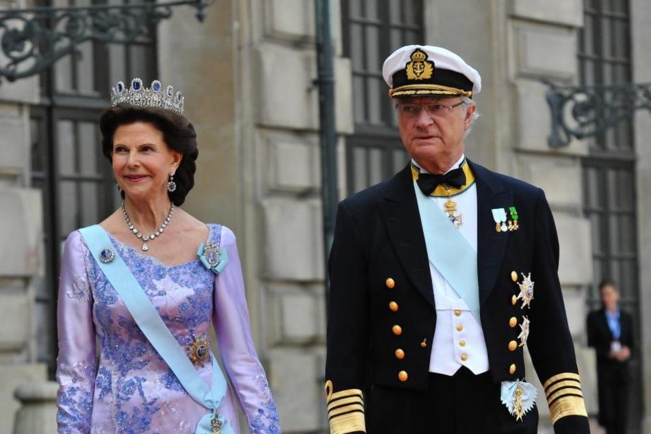 Im Oktober zu Besuch in Leipzig: Schwedens König Carl XVI. Gustaf (70) und Gattin Sylvia (72).