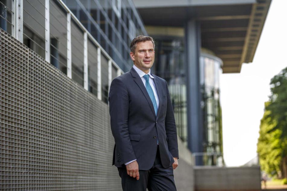 Dresdens Wirtschaftsminister geht auf große Reise