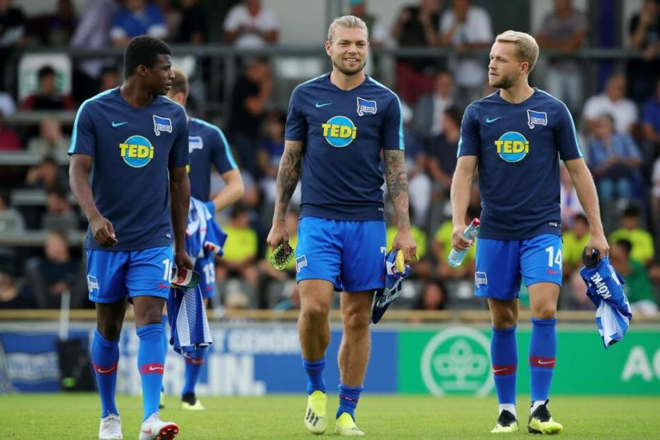 Alexander Esswein und Pascal Köpke (Mitte und rechts) stehen erneut im Fokus von Dynamo!
