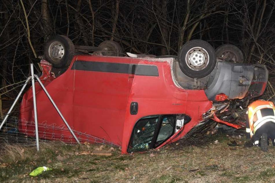 Die Fahrer konnten selbstständig aus ihren Autos aussteigen.