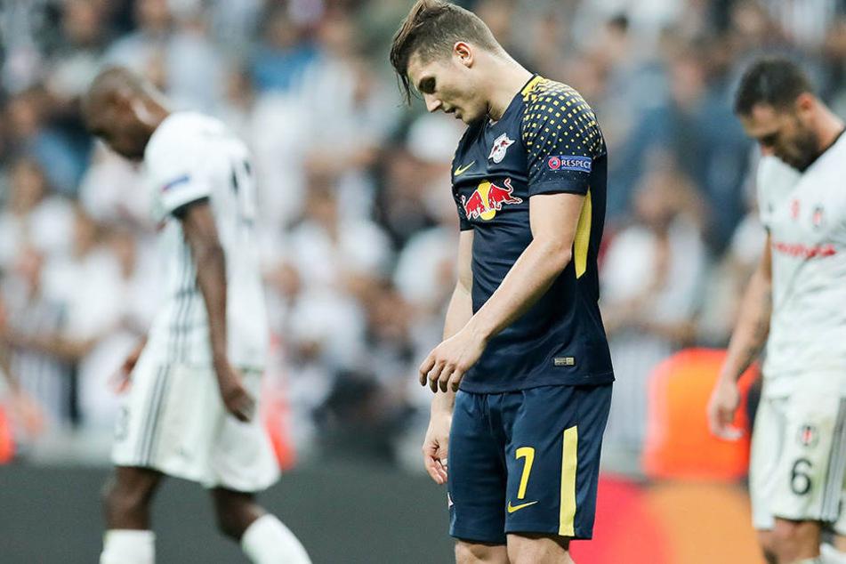 Marcel Sabitzer (23) muss wegen seiner Rückenprobleme beim Spiel gegen Zenit aussetzen.