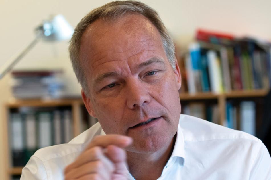Matthias Miersch, stellvertretender Vorsitzender der SPD-Bundestagsfraktion.