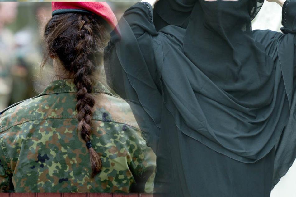 Beamtinnen, Soldatinnen und Richterinnen im Dienst dürfen ihr Gesicht künftig grundsätzlich nicht verhüllen.