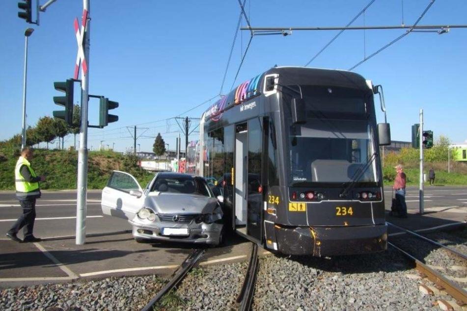 Der Unfall beeinträchtigte auch den Anreiseverkehr zum Heimspiel des 1. FSV Mainz 05.