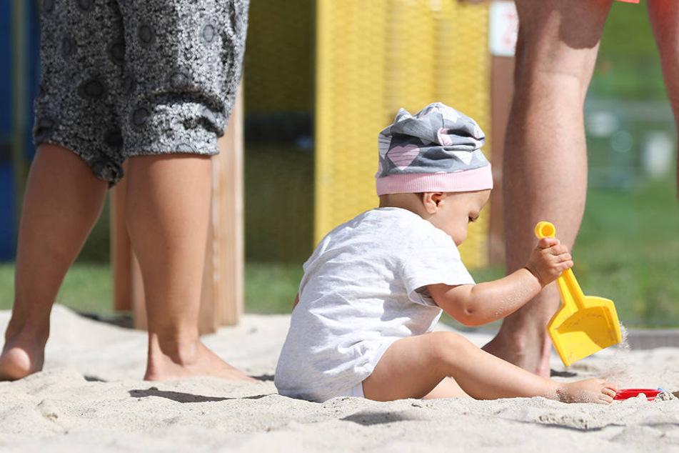 In Deutschland gibt es jetzt einen Strand nur für Babys