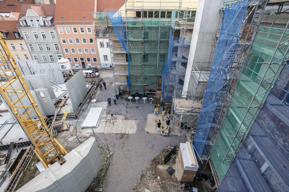 Das Herderhaus in Freiberg wird für 21 Millionen Euro saniert, umgebaut und erweitert. 2021 zieht das Stadtarchiv ein.
