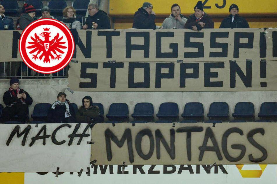 Eintracht Frankfurt steht hinter Fan-Boykott bei Montags-Spiel