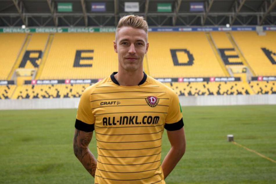 Ondrej Petrak ist der fünfte Winter-Neuzugang von Dynamo Dresden.