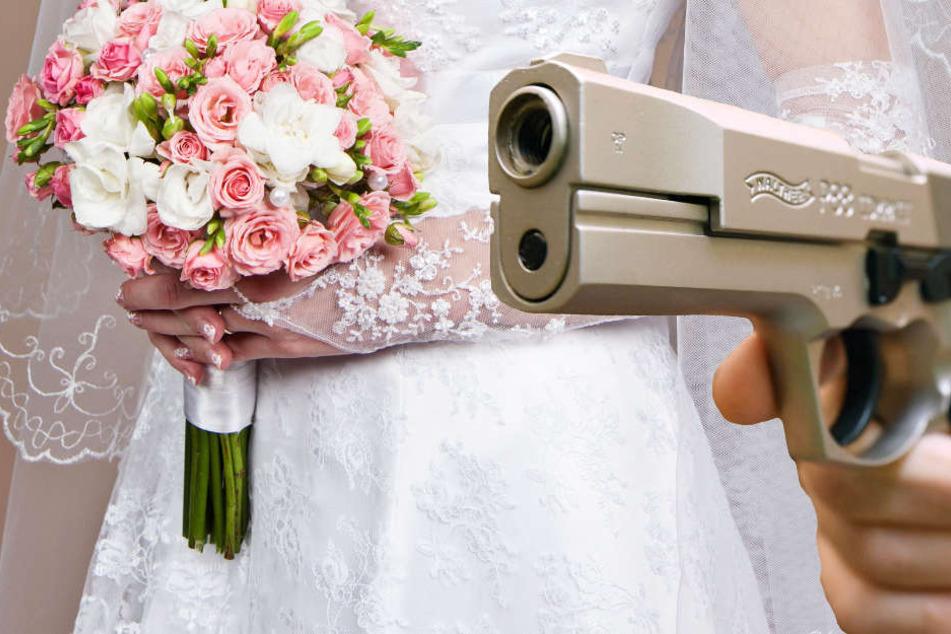 Bei einer Hochzeitsfeier in Mainz-Kastel fielen Schüsse (Symbolbild).