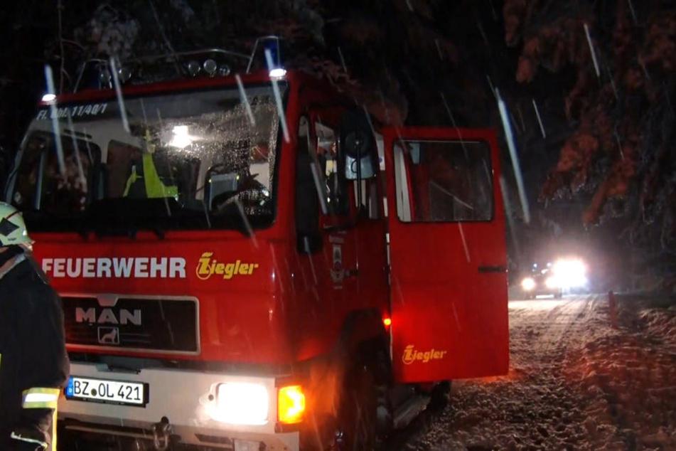 Die Feuerwehr ist im Dauereinsatz.