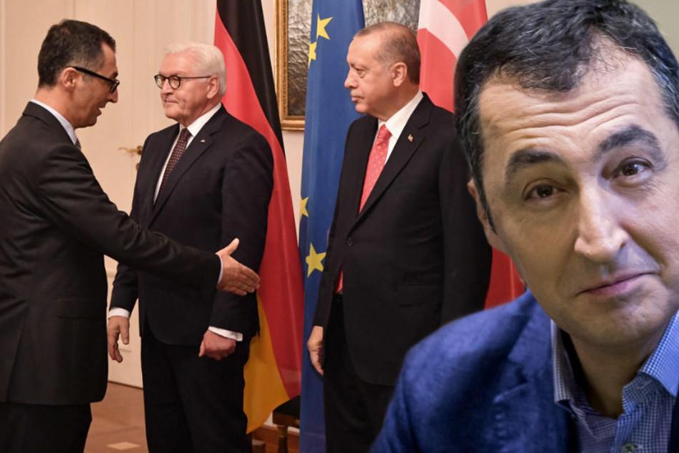"""Nach Staatsbesuch: Özdemir fordert """"deutliches Stoppsignal"""" für Erdogan"""
