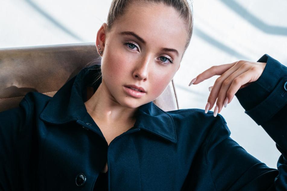 Shania Geiss (15) hat ihren ersten Model-Vertrag ergattert.