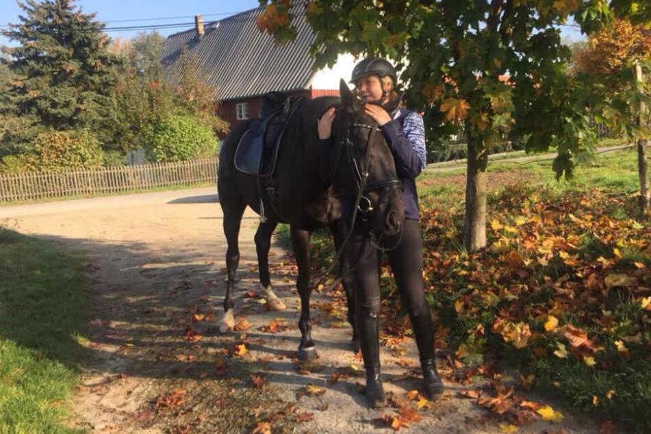Moderatorin und Pferdenärrin: Anja Koebel reitet seit frühester Kindheit.